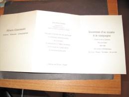 INVITATION INAUGURATION DU CENTRE D'ART DE CHATEAU DE TANLAY - YONNE - Le 30/6/84 De Jp SOISSON  Ancien Ministre ... - Vieux Papiers