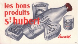 BUVARD -  Les Bons Produits Saint Hubert - Laiterie Nancy - Lorraine - Ohne Zuordnung