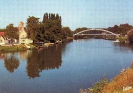 D  89  Moneteau  Le Pont  Sur L'yonne  Le Clocher  De L'eglise  Saint  Cyr - Moneteau