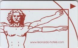 GERMANY - Leonardo Hotels, Hotel Keycard , Used - Cartas De Hotels