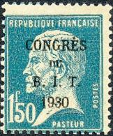 FRANCE 1930 - Yv. 265 * TB Variété  Cote= 21,00 EUR - Congrès Du BIT. Pasteur ..Réf.FRA15751 - Nuovi
