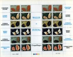 Wallis Et Futuna Neuf  Luxe . MNH Année 1987 . N° 360 / 365 Emis En Feuille . - Nuovi