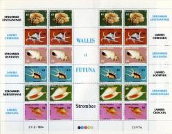 Wallis Et Futuna Neuf  Luxe . MNH Année 1984 . N° 312 / 317 Emis En Feuille . - Nuovi
