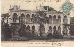 ALGER. ORAN. Palais D'été Du Gouverneur. Place Maréchal Foch Et Hotel De Ville. 2 Cpa - Algiers