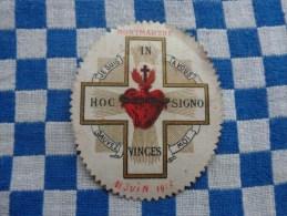 insigne dedie a la consecration nationale la france au sacre coeur 1914-1915-