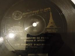 Flexi - Orchestre De Paris Sous La Direction De Pierre Spiers - Les Fiancés D'auvergne - Discotheque De Paris - Spezialformate