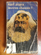 Oeuvres Choisies 1 (Karl Marx) éditions Gallimard N° 41de 1974 - Poésie