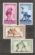 TURKEY  Sport(wrestling) Set 4 Stamps  MNH - Francobolli