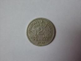 2 francs 1943 Morlon