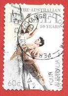 AUSTRALIA USATO - 2011 - 50 Anni Del Balletto Australiano - Two Dancers - 60 C - Michel AU 3842 - 2010-... Elizabeth II