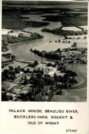 HANTS - PALACE HOUSE, BEAULIEU RIVER, BUCKLERSHARD, SOLENT AND IOW - AERIAL RP Ha64 - England