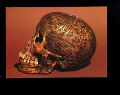 Crâne Gravé Dayak De Bornéo XIXe Siècle Muséum De Lyon Musée Guimet Carved Skull Head - Azië