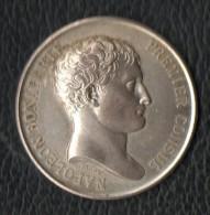 Jeton De Notaire Argent Napoléon - Professionali / Di Società