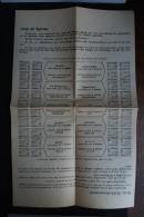 Spirou folder pour timbres spirou dans les ann�es 1950
