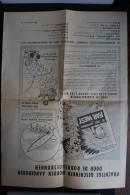 Spirou flayers publicitaire dans les ann�es 1950