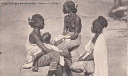 """Afrique Occidentale - Femmes """" Foulbés """" Seins Nus - South Africa"""