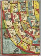 GIOCO  DI PINOCCHIO OMAGGIO  FARMACIE DI FIRENZE--1937  USATO STATO  COME SCANSIONE - Cartoline