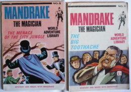 Lot 2 Comics GB (1967) : MANDRAKE THE MAGICIAN / Poches / TBE ! - Livres, BD, Revues