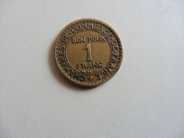 France  : 1  Franc  1922  Chambre De Commerce - France