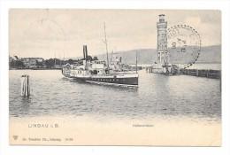 CP54- Lindau . Hafeneinfahrt . Allemagne - Lindau A. Bodensee