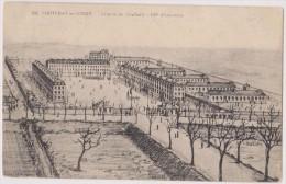 Cpa,1914,vendée,fontenay Le Comte,caserne De Chaffault,137° D´infanterie,DESSIN SIGNE DE G. JAUNET - Fontenay Le Comte