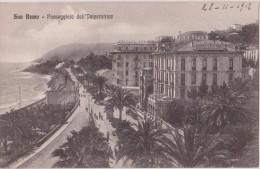 Italie,italia ,liguria,ligurie,imperia, SANREMO,SAN REMO EN 1912,PASSEGGIATA DELL´ IMPERATRICE,HOTEL DE PARIS,RESTAURANT - Imperia