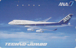 Télécarte Japon / 110-011 - AVIATION - ANA - AVION - Japan Airlines Phonecard Telefonkarte - Tarjeta Tel. - 838 - Avions