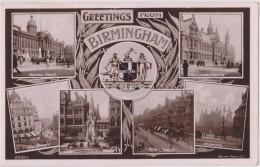 ROYAUME UNI,ANGLETERRE,england,WA RWICKSHIRE,BIRMINGHAM EN 1909,BRUM,CITY - Birmingham