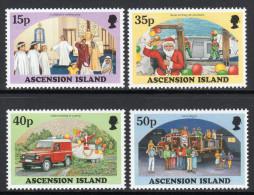 ASCENSION. 1998 CHRISTMAS SET MNH. - Ascensione