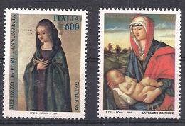ITALIA 1994  NATALE SASS. 2129-2130 MNH XF - 6. 1946-.. Repubblica