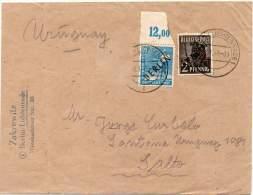 GERMANY BERLIN 1949 - Cover To Salto, Uruguay