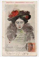 España Firmada Spain Illustrator Superb Thomas Biblioteca Salvat Ca1900  Vintage Original Postcard Cpa Ak (W4_840 - Ilustradores & Fotógrafos
