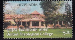 India MNH 2011 United Theological College Education Theology Christianity  Studies, Counselling, Etc., Tree, - Inde