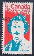 Canada  #  1970  #  515 ( LOUIS RIEL / Métis ) - 1952-.... Regering Van Elizabeth II