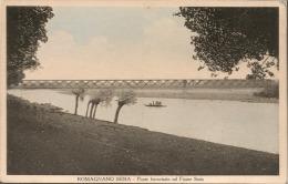 Romagnano Sesia (Novara): Ponte Ferroviario Sul Fiume Sesia - Formato Piccolo Non Viaggiata - Novara