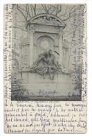 CPA  Precurseur -BRUXELLES, MONUMENT DECOSTER -Circulé 1904 -Belgique - Sculture