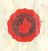 1921 Turkey Smyrne Banque D'Athenes Reg. Cover To Athens LABEL - Storia Postale