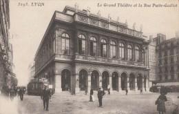 CPA LYON  FM GARE DE LYON 28/3/17 POUR  HOPITAL FAUCHER BORDEAUX              TDA38 - 1877-1920: Semi Modern Period