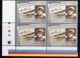 Henri Pequet Pilot First Official Airmail Flight, Block Of 4, Trarric Light MNH 2011, France Born,Humber-Sommer Airplane - Airplanes