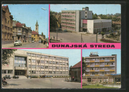 CPA Dunajska Streda, Vues De Bâtiments Divers, Vue Partielle, Hotel - Ansichtskarten