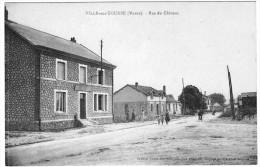 VILLE SUR TOURBE RUE DU CHATEAU - France