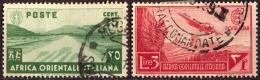 ITALIA - ITALY - AFRICA ORIENTALA ITALIANA - AEREA -  Used - 1938 - Eastern Africa
