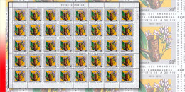 Rwanda 0378**  20c  Quinine -  Feuille / Sheet de 40 MNH