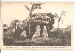 POITIERS   La Pierre Levée - Dolmen & Menhirs