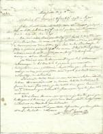 9 Déc. 1817 - Marseille (13) - 4° EXPÉDITION POUR L'AMERIQUE - - Documenti Storici