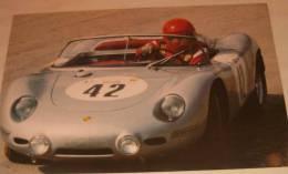 POSTER RIEVOCAZIONE TARGA FLORIO 1986 GDS PALERMO PORSCHE 718 RS60 CM. 33 X 50