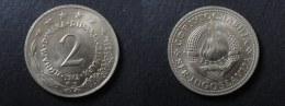 1972 - 2 DINARA YOUGOSLAVIE - YUGOSLAVIA - Yugoslavia