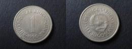 1990 - 1 DINAR YOUGOSLAVIE - YUGOSLAVIA - Yugoslavia
