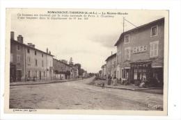 12076 - Romanèche-Thorins La Maison Blanche Café - Frankreich