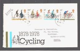 Lettre GB Cyclisme, TB - Wielrennen